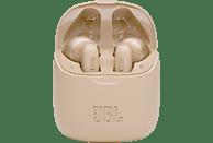 JBL Tune 225 TWS , In-ear True Wireless Kopfhörer Bluetooth Gold