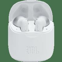 JBL Tune 225 TWS , In-ear Kopfhörer Bluetooth Weiß