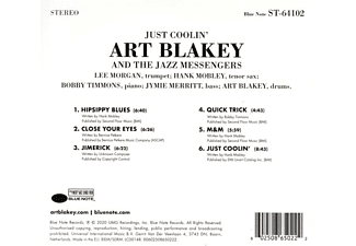 Art Blakey and the Jazz Messengers - Just Coolin'  - (CD)