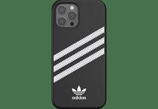 ADIDAS ORIGINALS Moulded Case, Backcover, Apple, iPhone 12 Pro Max, Schwarz/Weiß