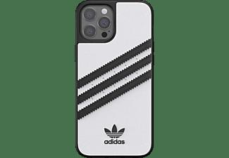 ADIDAS ORIGINALS Moulded Case, Backcover, Apple, iPhone 12 Pro Max, Weiß/Schwarz