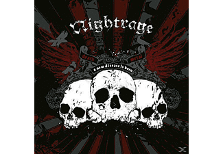Nightrage - A New Disease Is Born (Ltd.Vinyl)  - (Vinyl)