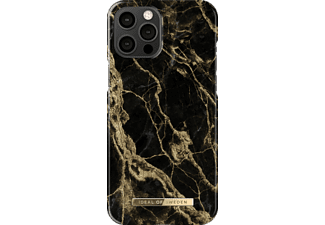 IDEAL OF SWEDEN Fashion Case, Backcover, Apple, iPhone 12 Pro Max, Golden Smoke Marble