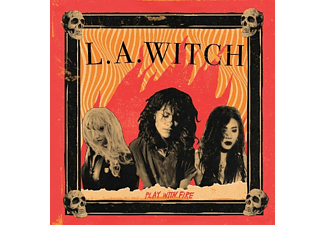 L.A.Witch - Play With Fire (Translucent Red)  - (Vinyl)