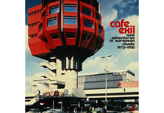 VARIOUS - CAFE EXIL - NEW ADVENTURES IN EUROPEAN MUSIC 1972-  - (Vinyl)