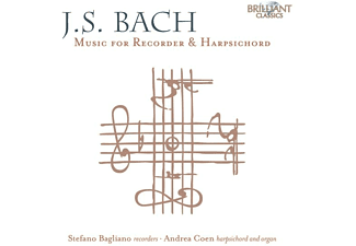 Bagliano,Stefano/Coen,Andrea - J.S. BACH: MUSIC FOR RECORDER And HARPSICHORD  - (CD)
