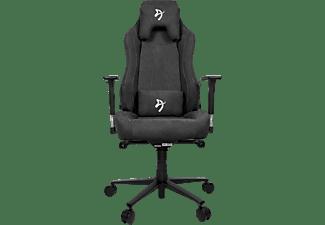 AROZZI Gaming Sessel Vernazza Soft Fabric, 3D-Armlehnen, Bis 145kg, Dunkelgrau