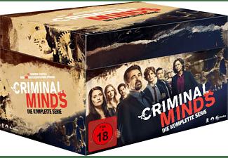 Criminal Minds - Komplettbox Staffel 1-15 DVD