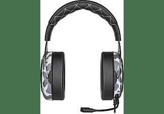 CORSAIR HS60 HAPTIC, Over-ear Headset Grau