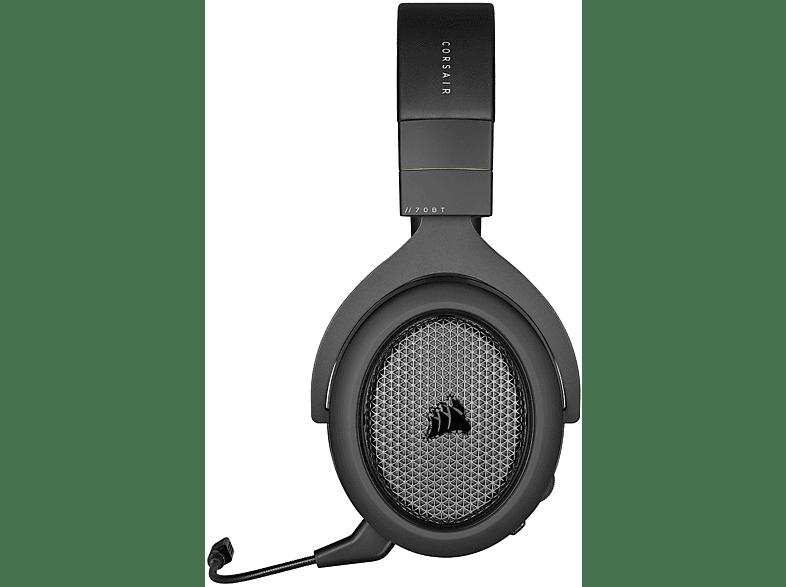 CORSAIR HS70, Over-ear Headset Bluetooth Schwarz