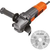 BLACK+DECKER BEG220A1 900W Winkelschleifer