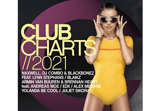 VARIOUS - Club Charts 2021  - (CD)