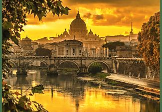 SCHMIDT SPIELE (UE) Goldenes Licht über Rom 1000 Teile Puzzle Mehrfarbig
