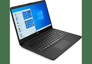 "Portátil - HP 14S-FQ0002NS, 14"" HD, AMD 3020e, 4 GB RAM, 64GB eMMC, Windows 10 Home en modo S, Negro"