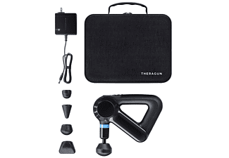 THERABODY Theragun Elite Black Massagegerät, Schwarz