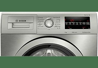 Lavadora carga frontal - Bosch WAU24T5XES, 9 kg , 1200 rpm, 15 programas, Inox