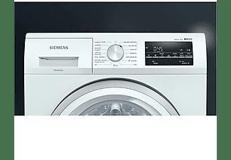 Lavadora carga frontal - Siemens WM12US61ES, 9 kg , 1200 rpm, 14 programas, Blanco