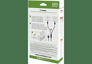 SNAKEBYTE XSX BATTERY:KIT SX™ (WHITE), Akku Pack, wiederaufladbare Batterie für XSX Controller, weiß