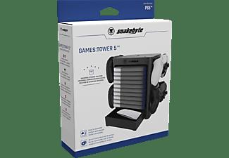 SNAKEBYTE PS5 Games:Tower 5™ Zubehör für PS5, Schwarz