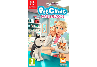 My Universe: Pet Clinic Cats & Dogs NL/FR Switch