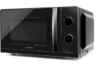 Microondas - Taurus Ready, 700 W, Sin Grill, 20 l,  6 programas, Temporizador, Negro