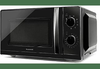 Microondas - Taurus Ready Grill, 700 W, Con Grill, 20 l, 9 programas, Control Mecánico, Negro