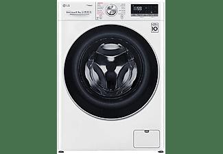 Lavadora secadora - LG F4DV5009S1W , 9 kg lavado, 6 kg secado, 14 programas, 1400 rpm, Blanco