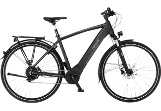 FISCHER Viator 6.0I Trekkingrad (Laufradgröße: 28 Zoll, Rahmenhöhe: 55 cm, Herren-Rad, 504 Wh, Graphit metallic matt)