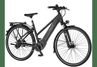 FISCHER Viator 6.0I Lady Trekkingrad (Laufradgröße: 28 Zoll, Rahmenhöhe: 44 cm, Damen-Rad, 504 Wh, Graphit Metallic matt)