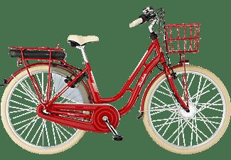 FISCHER Retro 2.0 Citybike (Laufradgröße: 28 Zoll, Rahmenhöhe: 48 cm, Unisex-Rad, 317, Rot glänzend)