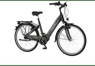 FISCHER Cita 4.1I Citybike (Laufradgröße: 26 Zoll, Rahmenhöhe: 44 cm, Unisex-Rad, 418 Wh, Schwarz matt)