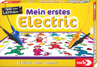 NORIS Mein erstes Electric Kinderspiel Mehrfarbig