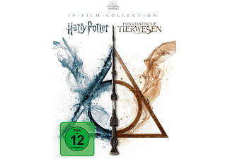 Wizarding World 10-Film-Collection: Harry Potter / Phantastische Tierwesen Blu-ray