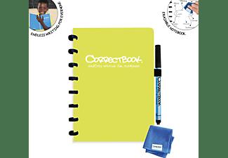 NTP Correctbook A5 liniert Notizbuch, Limonengrün