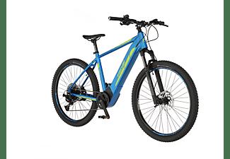 FISCHER Montis 6.0I Mountainbike (Laufradgröße: 27,5 Zoll, Rahmenhöhe: 48 cm, Unisex-Rad, 504 Wh, Azurblau)