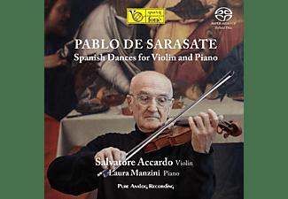 Salvatore Accardo & Laura Manzini - Spanish Dances For Violin And Piano (Analog Master  - (SACD Hybrid)
