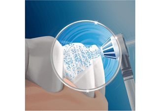Recambio para cepillo dental - Oral-B, Recambio para irrigador Oxyjet, 4 unidades, blanco y azul