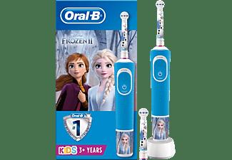 Cepillo eléctrico - Oral-B Vitality 100 Kids Plus Frozen, Para niños, Disney Magic Timer