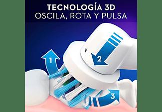 Cepillo eléctrico - Oral-B Pro 2500 SensiUltrathin, Recargable, Temporizador, Sensor de presión, Blanco