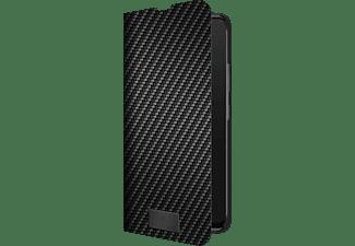 BLACK ROCK Flex Carbon, Bookcover, Samsung, Galaxy A42 5G, Schwarz