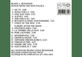 Blaine L. Reininger - SONGS FROM THE RAIN PALACE  - (CD)