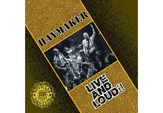 Haymaker - Live And Loud  - (CD)