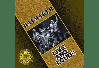 Haymaker - Live And Loud  - (Vinyl)