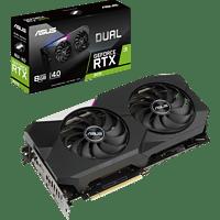 ASUS GeForce RTX™ 3070 Dual 8GB (90YV0FQ1-M0NA00) (NVIDIA, Grafikkarte)