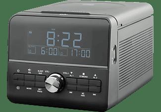 OK. OCR 110 Radiowecker, FM, Schwarz