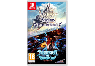 Saviors Of Saphire Wings & Stranger Of Sword City Revisited FR/UK Switch