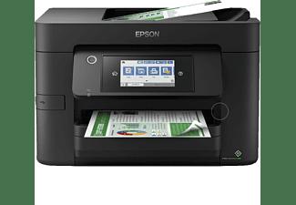 Impresora multifunción - Epson WorkForce Pro WF-4825DWF, 25 ppm B/N, 12 ppm Color, Wi-Fi + Ethernet, Negro