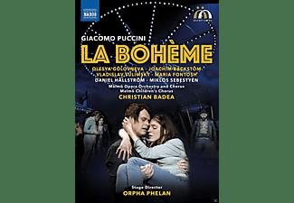 Olesya Golovneva, Joachim Bäckstöm, Vladislav Sulimsky, Maria Fontosh, Malmö Opera Orchestra, Chorus and Children's Chorus - LA BOHEME  - (DVD)