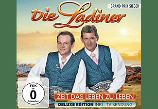 Die Ladiner - ZEIT DAS LEBEN ZU LEBEN-DELUXE EDITION INKL.TV  - (CD + DVD Video)