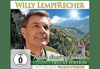 Willy Lempfrecher - FÜR DIE,DIE MIR VIEL BEDEUTEN-DELUXE EDITION  - (CD + DVD Video)